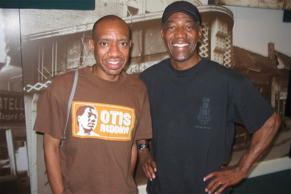 All The Way To Memphis - Otis Redding III and Jack Marchbanks at Stax Museum.