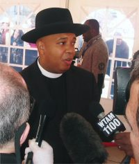 "2007 RRHOF Induction Ceremony - Rev. Joseph ""Run"" Simmons"